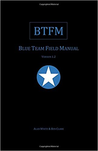 Blue Team Field Manual (BTFM) (RTFM) ebook rar