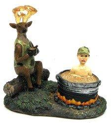 Home Decor- Comical Deer Catch Stew Pot Comical Deer