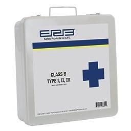 ERB Safety 28891 Ansi 2015 Class B First Aid Kit, Metal Box, 3\