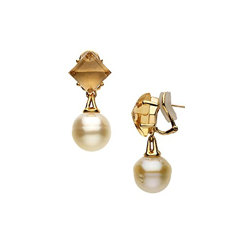 18k-yellow-gold-square-shaped-citrine-and-paspaley-south-sea-cultured-pearl-earrings