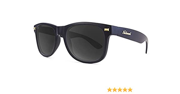 Gafas de sol Knockaround Fort Knocks Matte Black / Smoke POLARIZADAS
