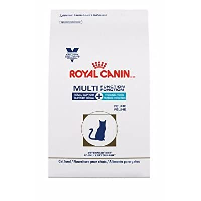 Royal Canin Veterinary Diet Feline Multifunction Renal Support + Hydrolyzed Protein Dry Cat Food, 6.6 lb