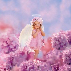 Angel Lilac Toddler 3-4 - LF1021T (Lilac Angel Toddler Costume)
