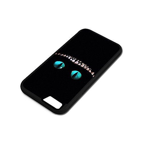 Cover iPhone 6 6S Case,Alice In Wonderland Cheshire Cat [PC+ TPU] Case Cover iPhone 6 6S 4.7-Inch Anti-Scratch Shock-Absorbing Bumper Back Panel Protective Cover H6B6XGQ