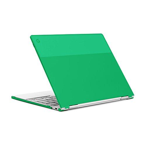 mCover Hard Shell Case for 12.3 Google Pixelbook Chromebook (NOT Compatible Older Model Released Before 2017) laptops (Green)