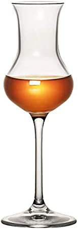 LINMAN RCR Graceful Tulip Scotch Whisky Glass Crystal Wine Taster CaveBlet Cup Cup Champagne Gafas (Capacity : 80ml, Color : Tulips Goblet)