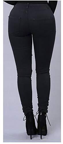 Nero Donna Donna Popoye Popoye Jeans Jeans XY6Yq