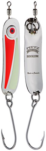 """Hookum"" Spoon Fishing Lure - Redrum 