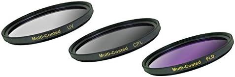 58mm 1A Multicoated Multithreaded Glass Filter for Nikon D3000 UV Haze