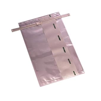 Capacity Sterile 12 Width x 16 Length 4 mil Thick Closure with 2 Flat Wires Clear Safety Tabs Pack of 250 185 oz Labplas EDL41216 TWIRLEM Large Format Sampling Bag