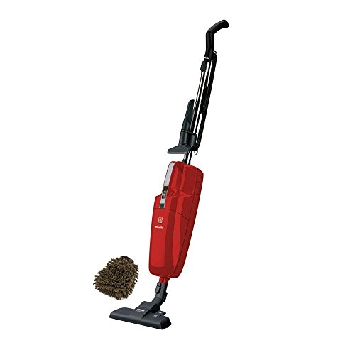 Miele Swing H1 Quick Step, Quickstep Vacuum Cleaner, Universal Upright, Mango Red (Complete Set) w/ Bonus: Premium Microfiber Cleaner Bundle