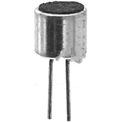 ICC / Intervox MEO-65PN-02-623 , Microphone; 20 to 16000 Hz; 2 V; 0.5 mA(Max.); 6 mm x 5.2 mm; -66, -64, -62 dB