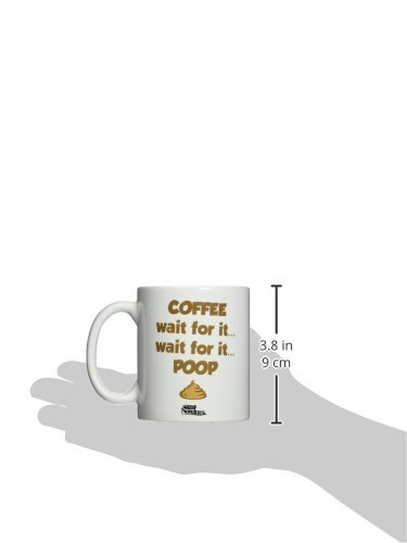 White Fairly Odd Novelties Poop Funny Coffee Mug