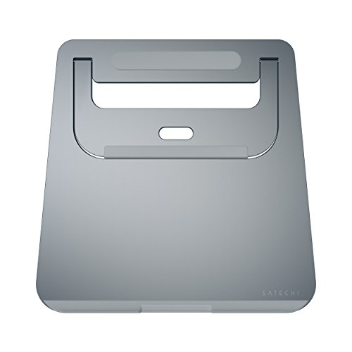 Satechi Lightweight Aluminum Portable Laptop Stand for Laptops, Notebooks, and Tablets (Space Gray)