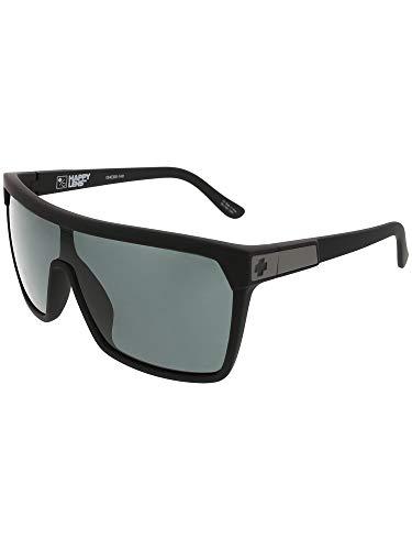 (Spy Optic Unisex Flynn Soft Matte Black/Hd Plus Gray Green One Size)