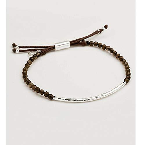 (Gorjana Power Gemstone Smoky Quartz Beaded Bracelet For Grounding 17120535SPKG)