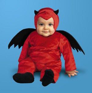 D'Little Devil Costume (12-18 months) - Devil Costume For Infants