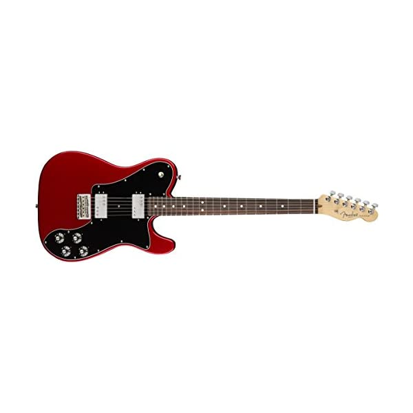 American Professional Telecaster Deluxe ShawBucker RW Candy Apple Red