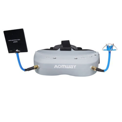 Aomway Commander V1 Diversity 3D 40CH 5.8G FPV Goggles w/ DVR Support HDMI and Head Tracker (Free ARRIS Battery Straps) by ARRIS