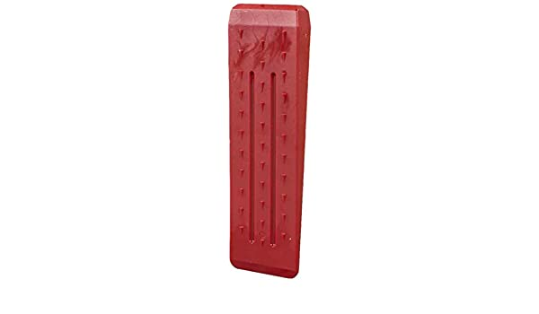 Ironside 100705 - Cuña, Rojo, 27 x 7, 8 x 2, 7 cm: Amazon.es: Jardín