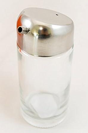 Salsa de soja Pot & Dispensador con Tapa de acero inoxidable.
