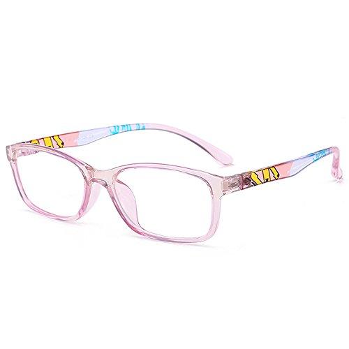 Fantia Unisex Child Non-Prescription Glasses Frame Clear Lens Kids Eyeglasses - Prescription China Glasses