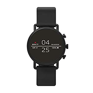 Skagen-Connected-Falster-2-Stainless-Steel-and-Silicone-Touchscreen-Smartwatch
