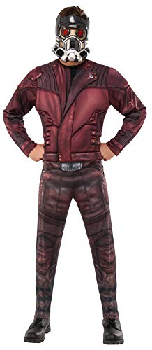Rubie's Men's Marvel Guardians of the Galaxy Vol. 2 Star-Lord Deluxe Costume, Standard -