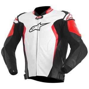 Alpinestars GP Tech 2015 Leather Jacket White/Black/Red 52 EUR