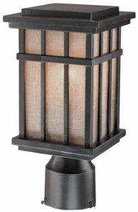 Dolan Designs 9141-68 1Lt Winchester Freeport 1 Post Light
