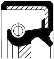 Corteco 19016634B Wellendichtring Schaltgetriebe