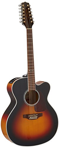 (Takamine GJ72CE 12-string - Brown Sunburst)