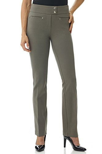 Panel Bootcut Pants - 7