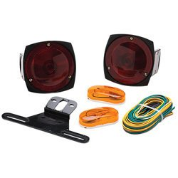 XtremepowerUS 12V Trailer Light Kit Multi-Function Tail Lights Side Markers boat auto truck