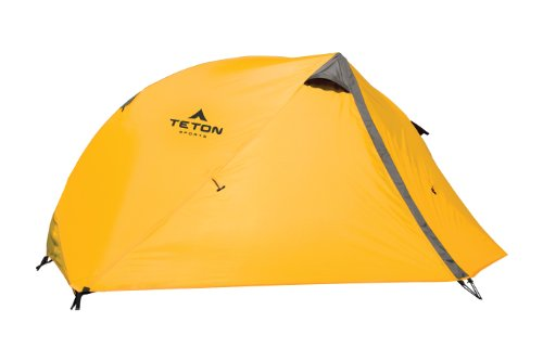 Teton Sports Mountain Ultra 1 Tent; 1 Person Backpacking Dome Tent Includes Footprint and Rainfly; Quick and Easy Setup; Ready in an Instant When You Need to Get Outdoors; Clip-On Rainfly Included
