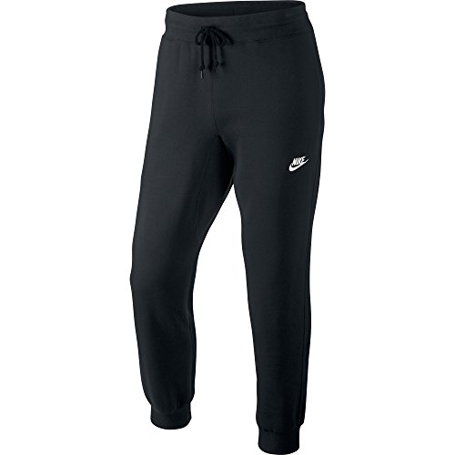 Nike Mens AW77 Cuffed Fleece Sweatpants Black/White 598871-010 Size 2X-Large