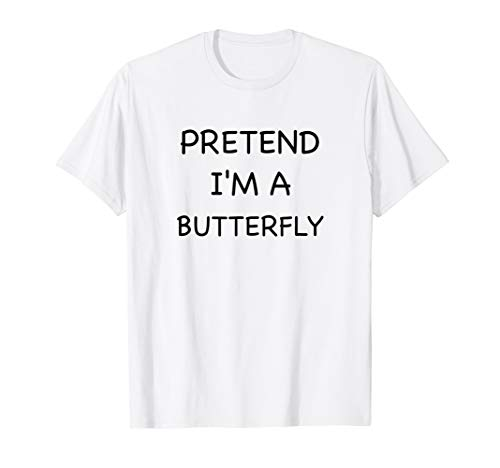 Lazy Butterfly Shirt Funny Easy Fast Halloween