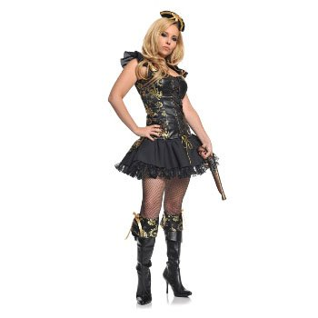 Pirate Princess Adult Costume Size 12-18 Large