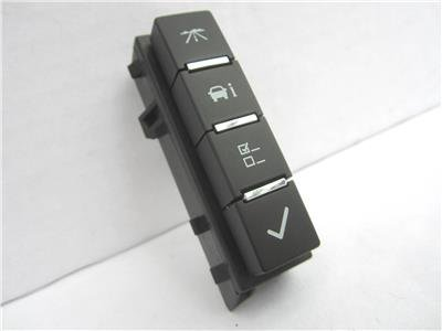 OEM GM Trucks and SUVs Driver Information Center Buttons Switch - Center Product Information
