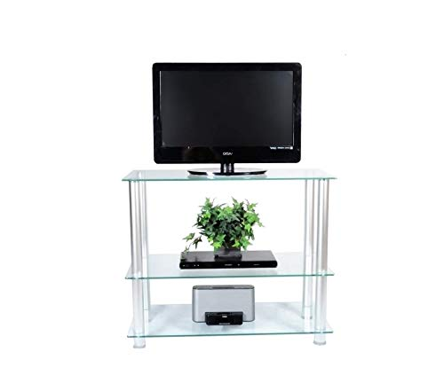 (Rtа Hоmе Аnd Оfficе Extra Tall Glass and Aluminum LCD and Plasma TV Stand for a 35 TV)