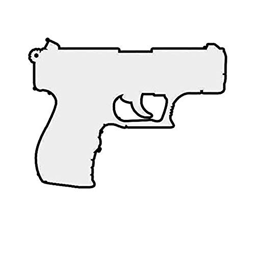 Ross Stores Walther P22 Diecut P 22 Deuce Deuce - Sticker Graphic - Auto, Wall, Laptop, Cell, Truck Sticker for Windows, Cars, Trucks