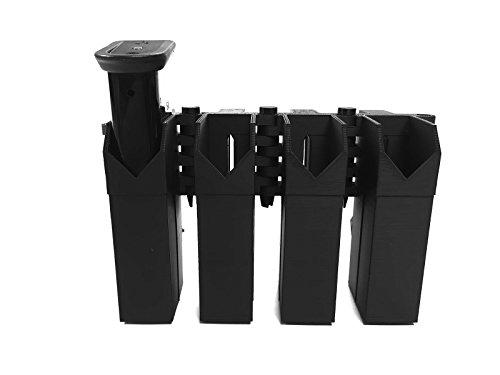 eAMP Patriot - Sig Sauer P226 / P228, Canik TP9 Series, Beretta Para 9 - 9mm Quad Mag Pouch Quad Pistol Mag Pouch