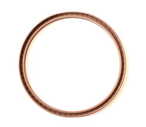 Oil Seal 240X270X15 Viton Oil Seal Grease Seal TC | EAI Rubber Double Lip w/Garter Spring 240mmx270mmx15mm | 9.449''x10.630''x0.591'' by EAI (Image #2)