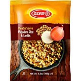 Osem Heat & Serve, Mejadara-Rice & Lentils, 5.3 Ounce (Pack of 12)