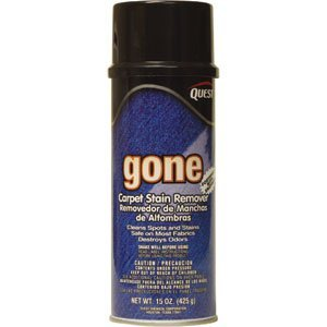 Quest Chemical 246 Gone Carpet Stain Remover, 16 oz, 12/Case