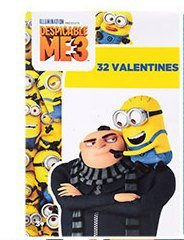 (Valentine's Day Cards Despicable Me Minions Licensed Cartoon Character ,)