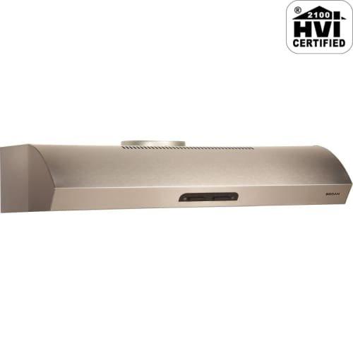 Broan QP142SS Under-Cabinet Range Hood, 42-Inch 300 CFM, Sta