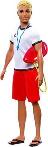 Barbie Careers Ken Lifeguard Doll (Barbie Life In The Dreamhouse Ken Doll)