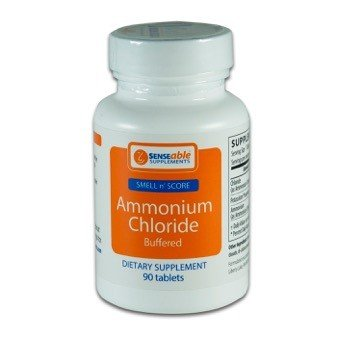 SENSEable Supplements | Ammonium Chloride | Smell N Score | Helps Maintain Proper PH Levels | 90 Tablets