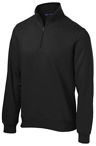 Sport-Tek 1/4-Zip Sweatshirt>XL Black ST253 from Sport-Tek